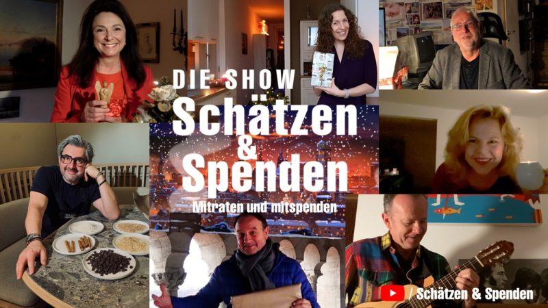 Künstlerbanner Schätzen & Spenden 7